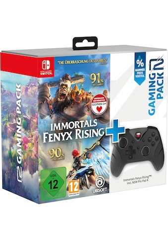 UBISOFT Spiel »Immortals Fenyx Rising + Switch Pro Pad X«, Nintendo Switch kaufen