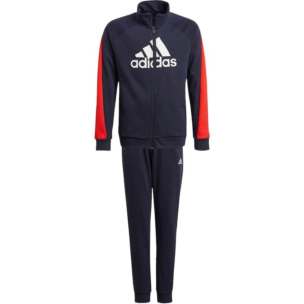 adidas Performance Jogginganzug »BOYS COLORBLOCK BOS LOGO TRACKSUIT«, (Set, 2 tlg.)
