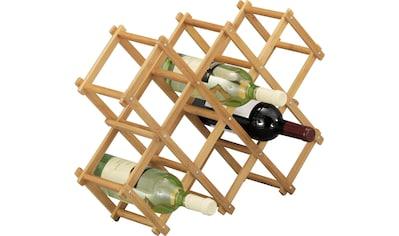 Zeller Present Weinregal »Bamboo« kaufen