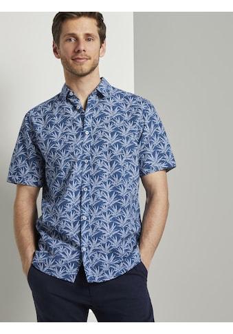 TOM TAILOR Kurzarmhemd »Gemustertes Kurzarm-Hemd« kaufen