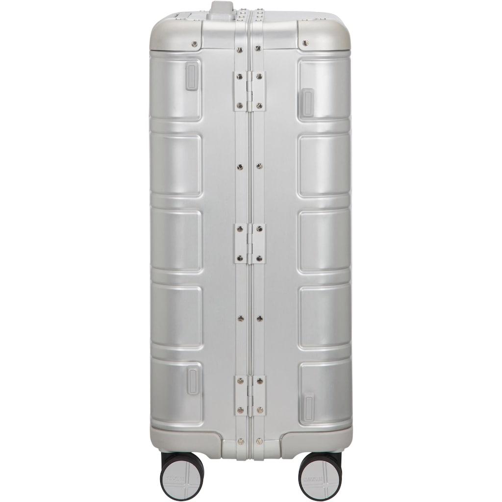 American Tourister® Hartschalen-Trolley »Alumo, 55 cm, silver«, 4 Rollen