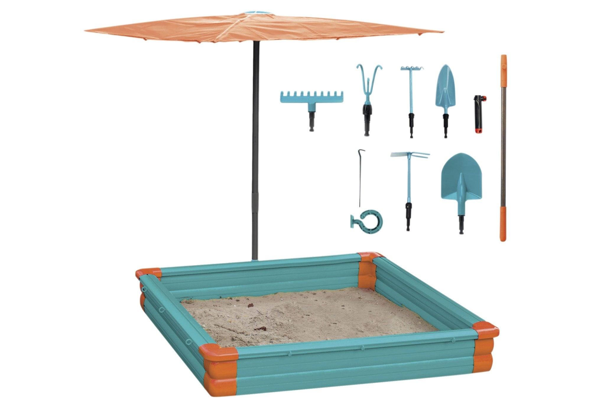 knorrtoys sandkasten gardena set auf rechnung. Black Bedroom Furniture Sets. Home Design Ideas