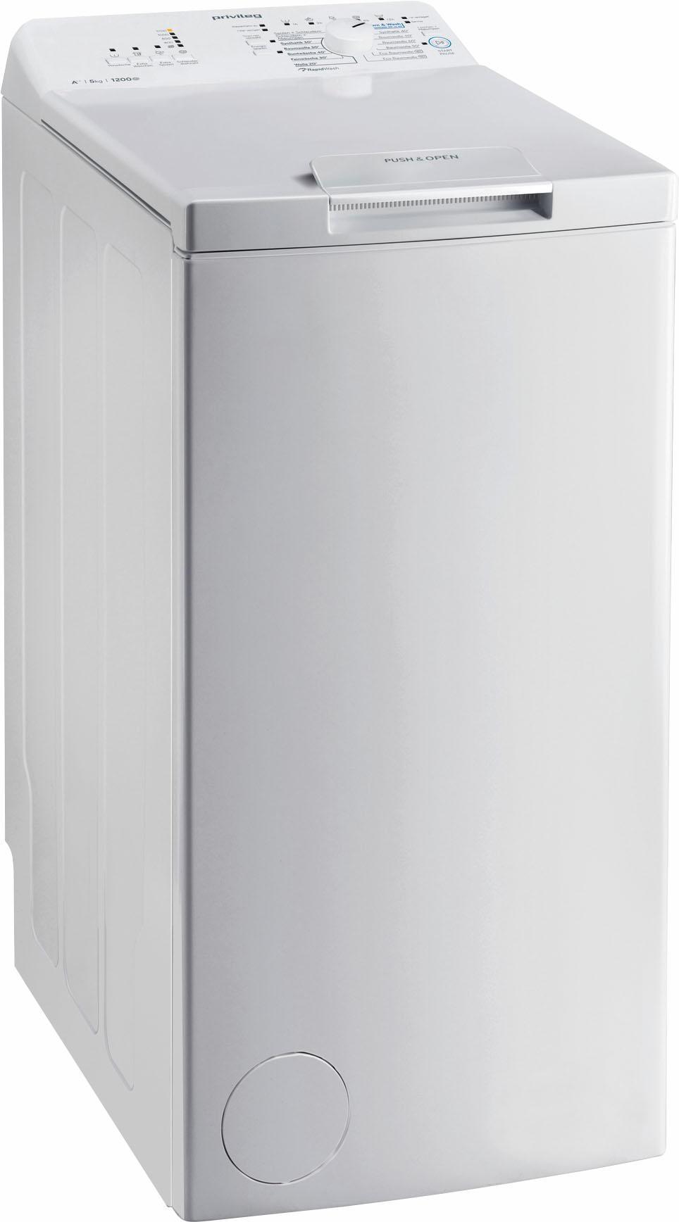 Privileg Waschmaschine Toplader PWT A51252P | Bad > Waschmaschinen und Trockner > Toplader | Weiß | Privileg