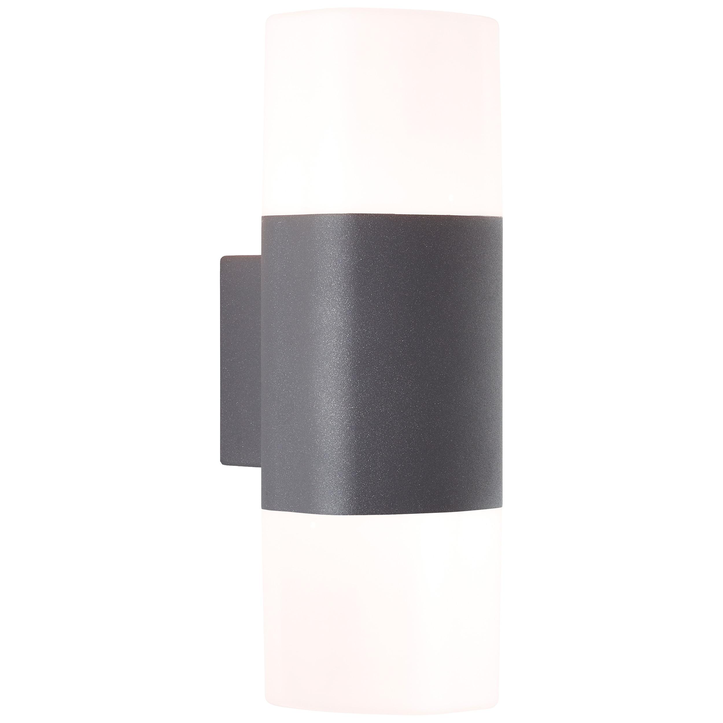 AEG Farlay LED Außenwandleuchte 2flg anthrazit