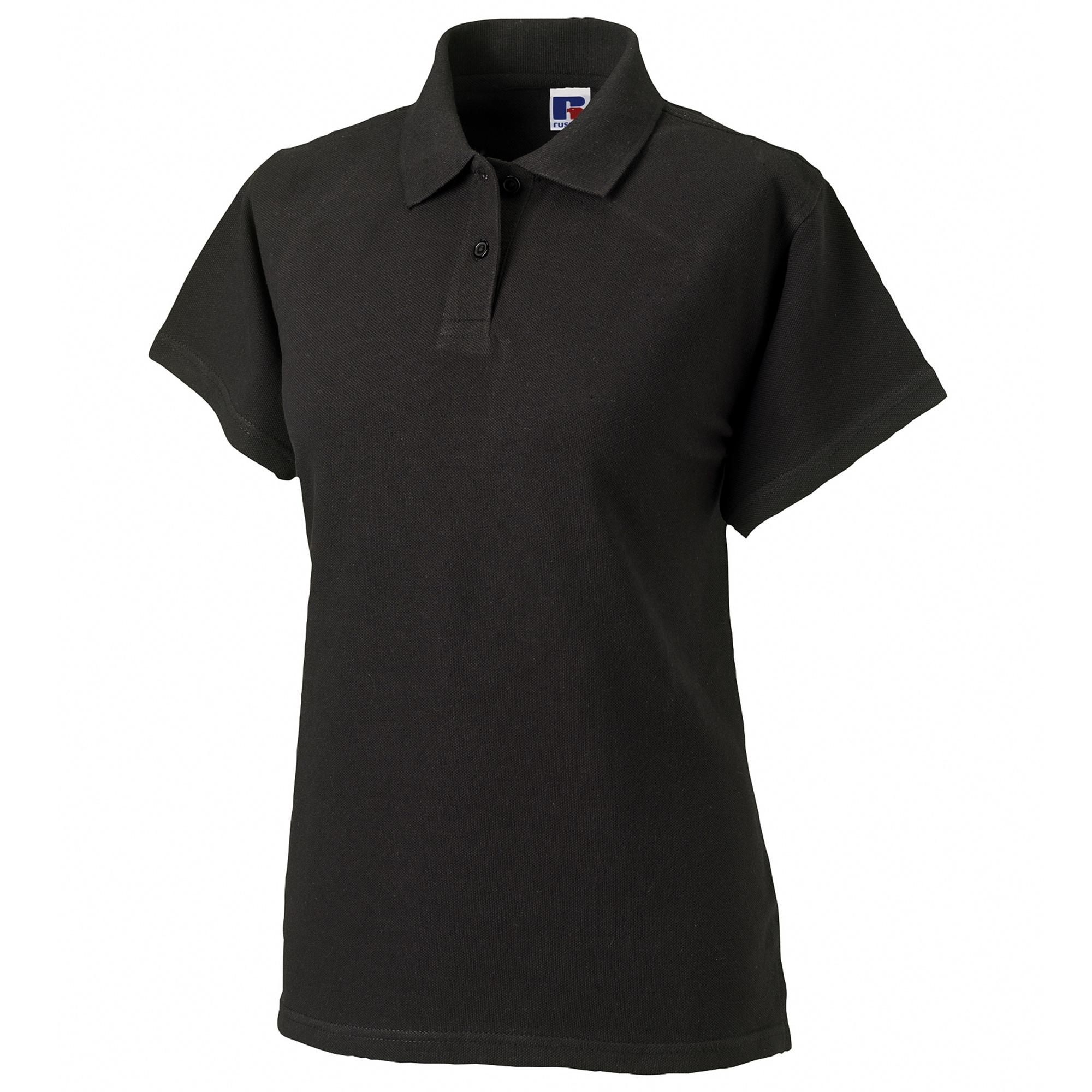 russell -  Poloshirt Damen Polo Shirt Europe Klassik Kurzarm