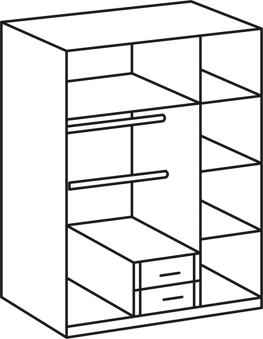Wimex Jugendzimmer-Set Jalta (Set 3-tlg) | Kinderzimmer > Jugendzimmer > Komplett-Jugendzimmer | Weiß | Wimex