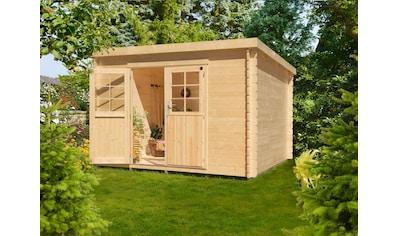 Kiehn - Holz Gartenhaus »Hummelsee 4«, BxT: 327x326 cm, inkl. Fußboden kaufen