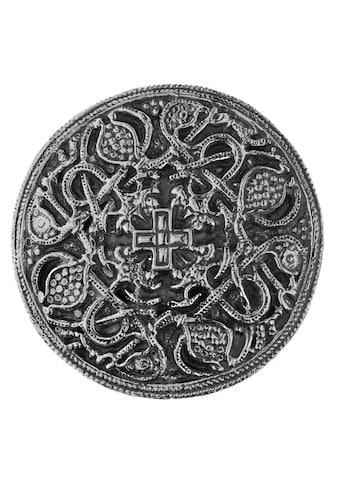 OSTSEE-SCHMUCK Brosche »- Hiddensee 42 mm rund - Silber 925/000 -,« kaufen