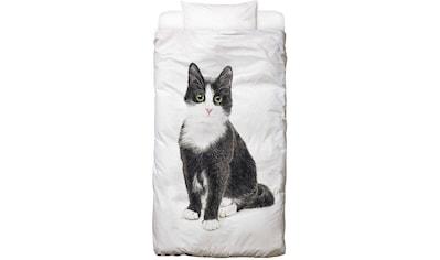 Bettwäsche »Katze Murmelauge«, Juniqe kaufen