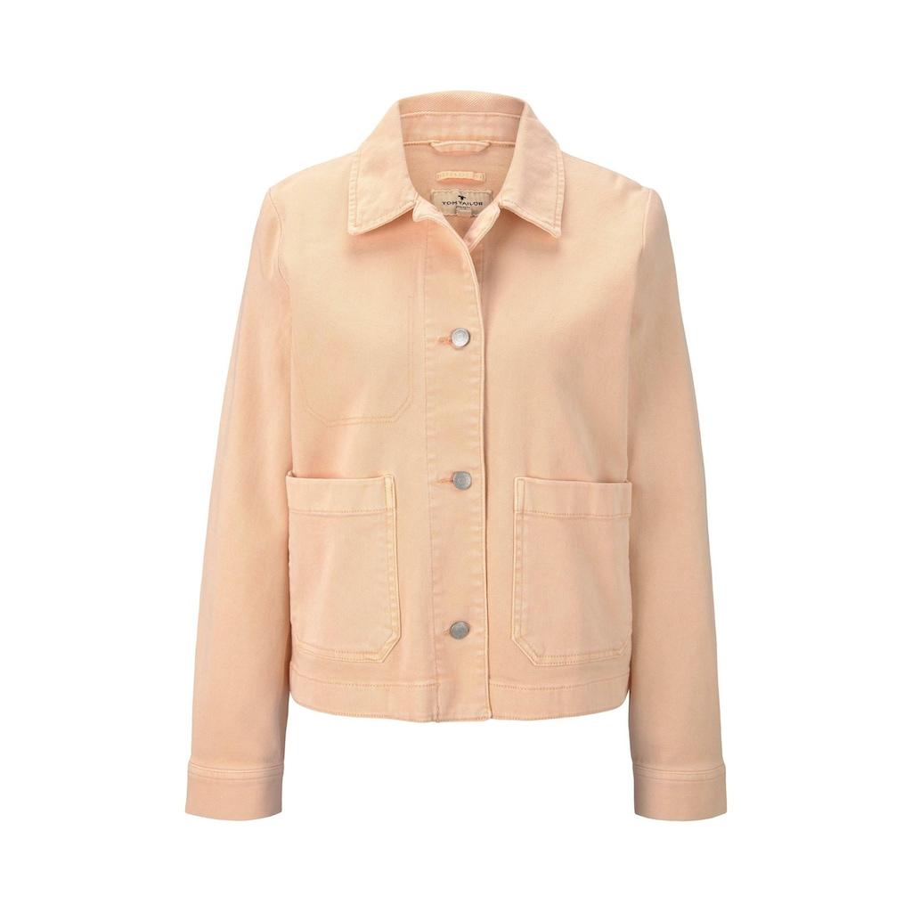TOM TAILOR Cargojacke »Jeansjacke mit großen Taschen«