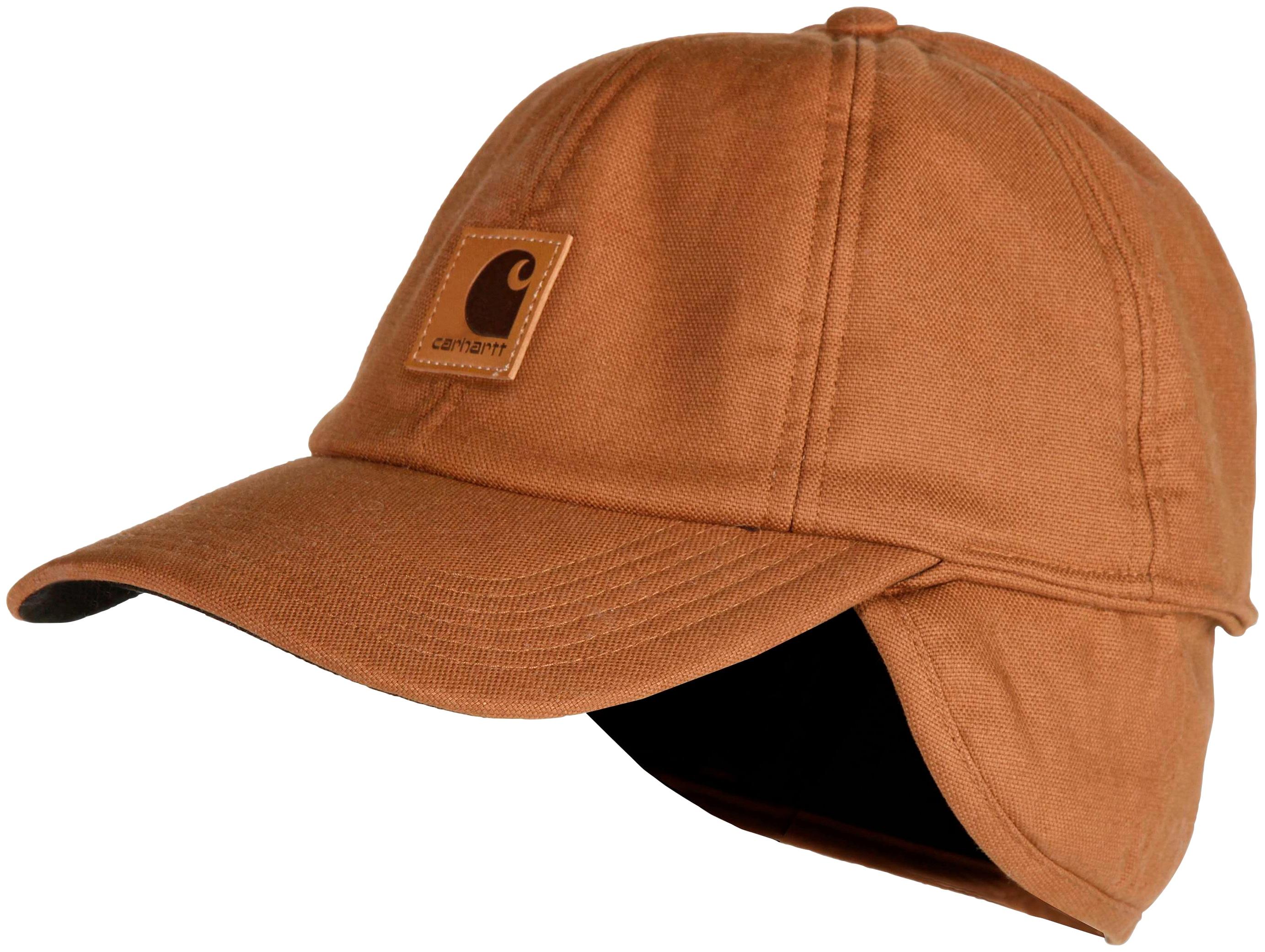 carhartt -  Fitted Cap Stretch Fitted Ear-Flap Cap
