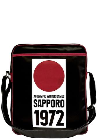 LOGOSHIRT Tasche mit lässigem Retro - Print »Sapporo 1972« kaufen