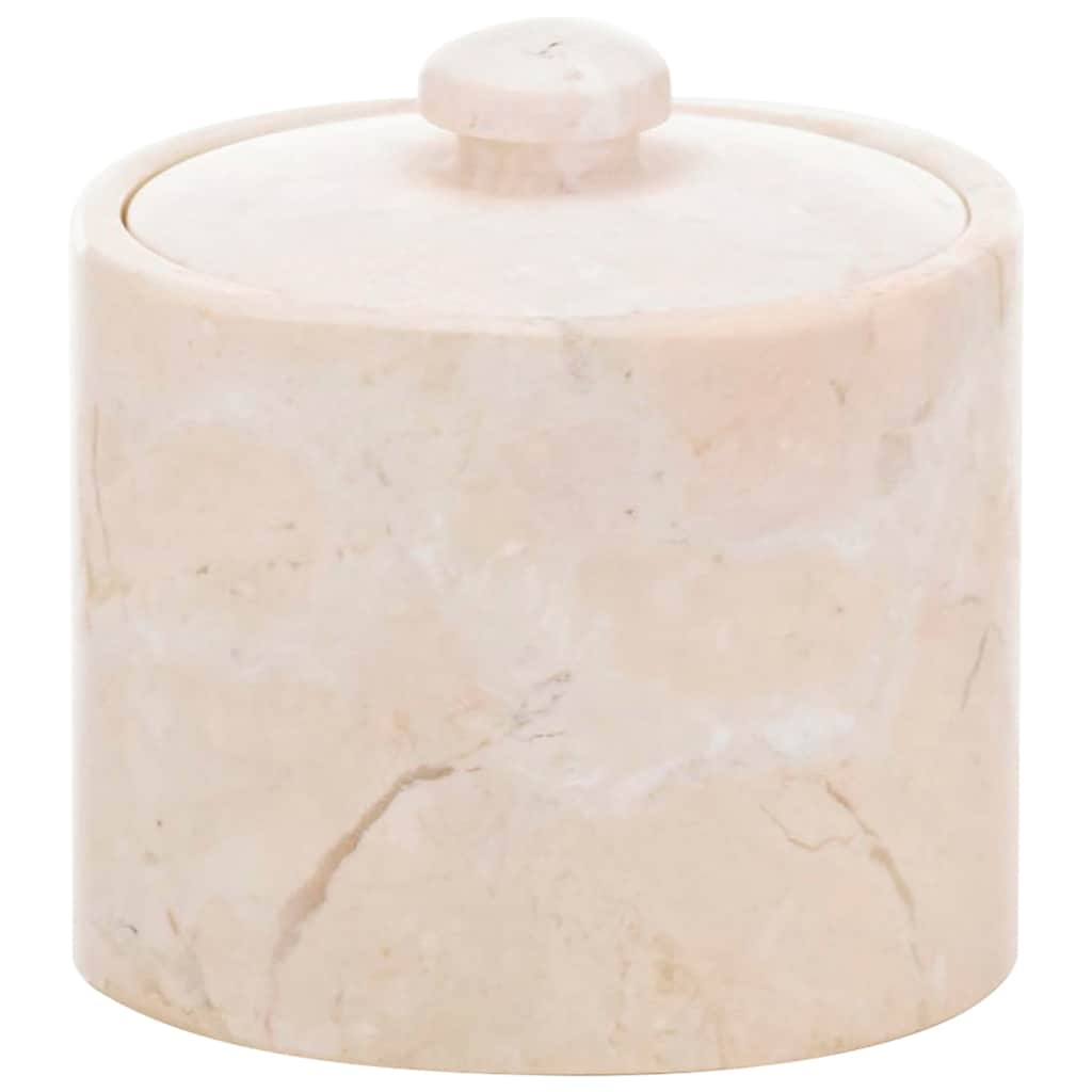 kela Aufbewahrungsdose »Wattedose Marble«, (1 St.)