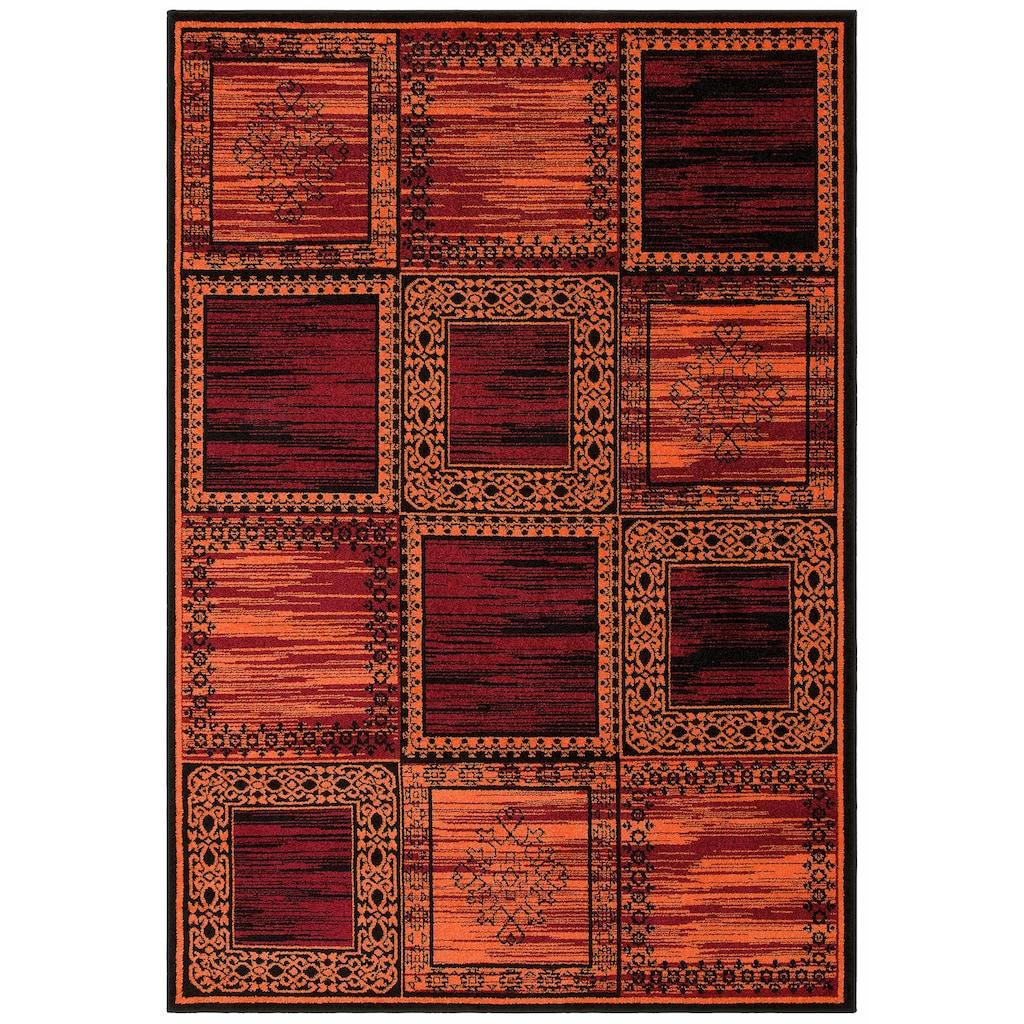 Home affaire Teppich »Esme«, rechteckig, 8 mm Höhe, Wohnzimmer