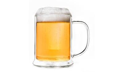 Creano Glas, Thermoglas in Bierglas Optik, 0,5 Liter kaufen