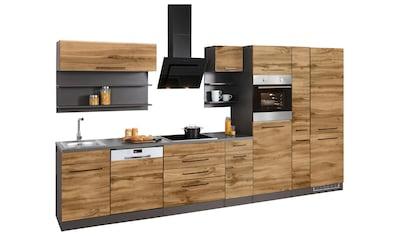 HELD MÖBEL Küchenzeile »Tulsa«, mit E - Geräten, Breite 380 cm kaufen