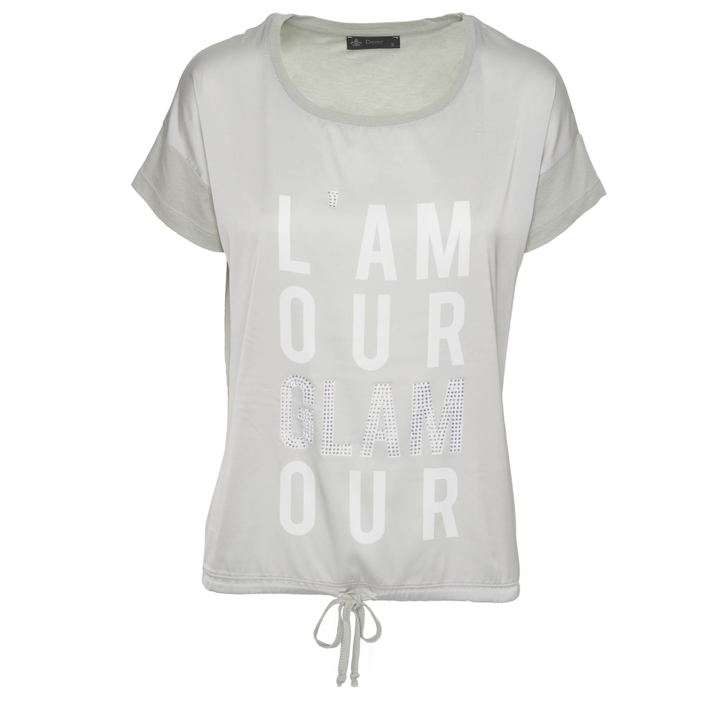 Decay T-Shirt, mit coolem Printmotiv