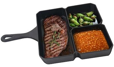 Jim Beam BBQ Grillpfanne, Gusseisen, (1 tlg.), BxLxH: 23x35x4 cm kaufen