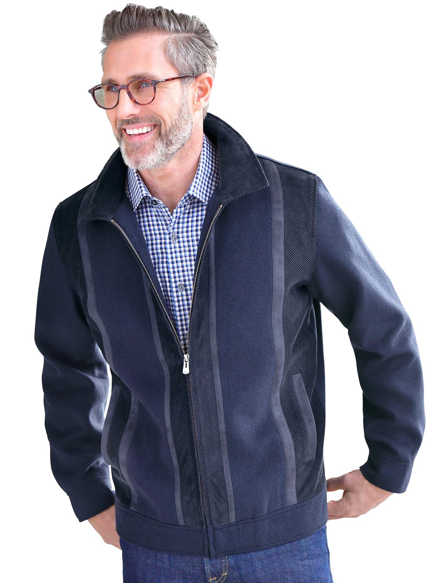 Marco Donati Blouson mit doppeltem Umlegekragen   Bekleidung > Jacken > Blousons   marco donati