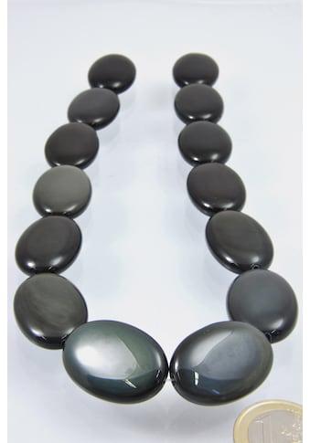 Adelia´s Kette ohne Anhänger »Regenbogen Obsidian Edelstein Stein Strang ohne Schließe« kaufen