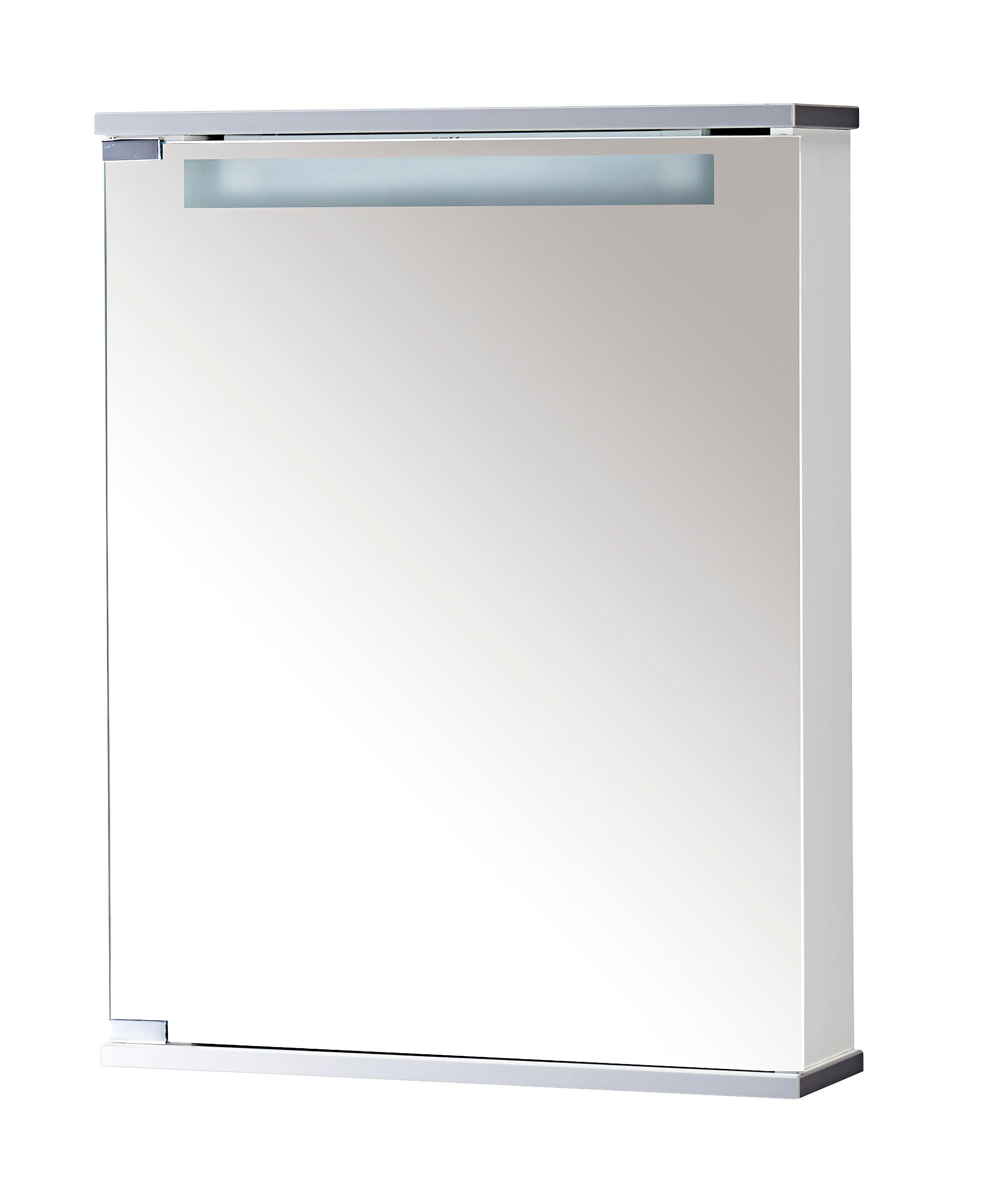 jokey Spiegelschrank Cento 50, weiß, 50 cm Breite weiß Bad-Spiegelschränke Badschränke Schränke