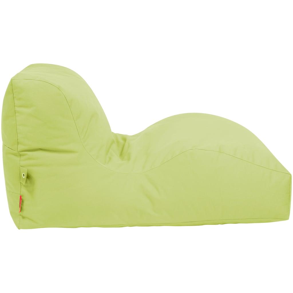 OUTBAG Sitzsack »Wave Plus«, wetterfest, für den Außenbereich, BxT: 70x125 cm