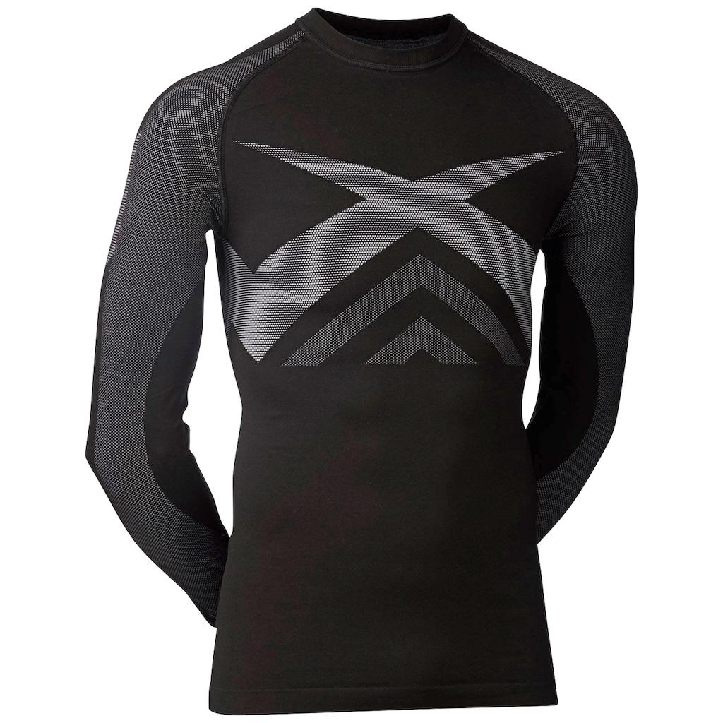 Kübler Funktionsshirt »Funktionsunterhemd«, schwarz-grau