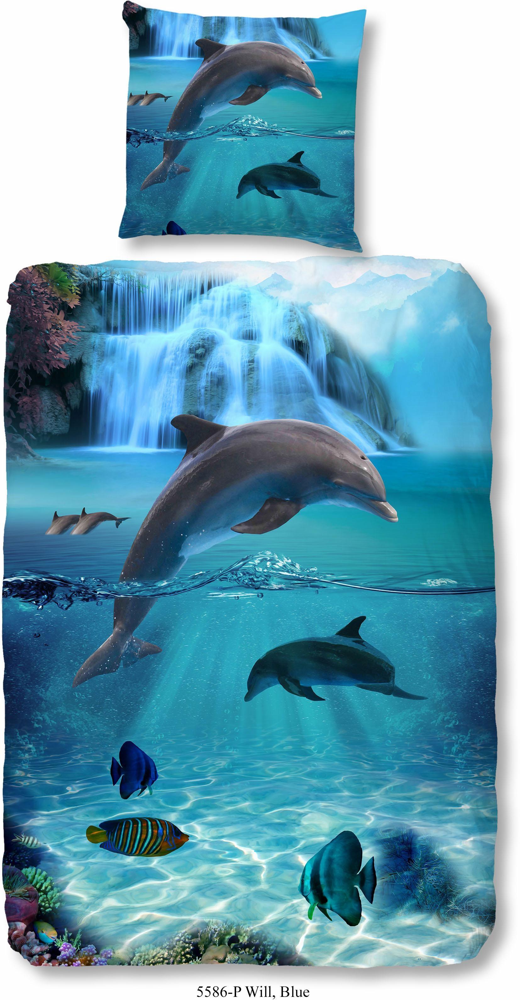Kinderbettwäsche Flipper good morning