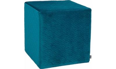 H.O.C.K. Sitzwürfel »Soft Nobile«, 45/45/45 cm, H.O.C.K. kaufen
