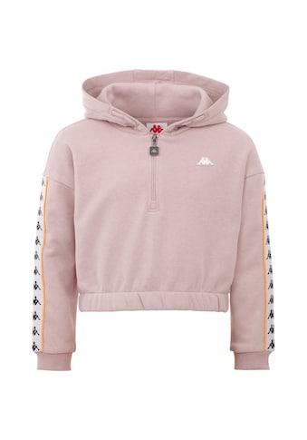 Kappa Kapuzensweatshirt »HANJA«, modisch kurz geschnitten<br /> kaufen