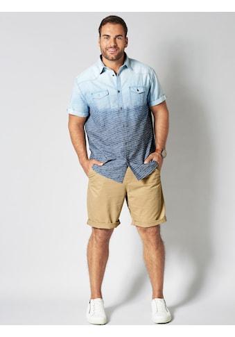 Men Plus by Happy Size Kurzarmhemd aus reiner Baumwolle kaufen