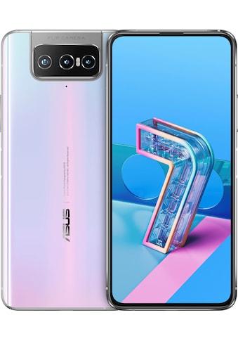 """Asus Smartphone »Zenfone 7«, (16,94 cm/6,67 """", 128 GB Speicherplatz, 64 MP Kamera) kaufen"""