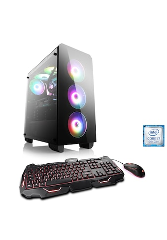 CSL RGB EDITION | Core i7 - 9700K | RTX 2080 Ti | 16GB DDR4 | SSD »ASUS ROG T9885 Windows 10 Home« kaufen