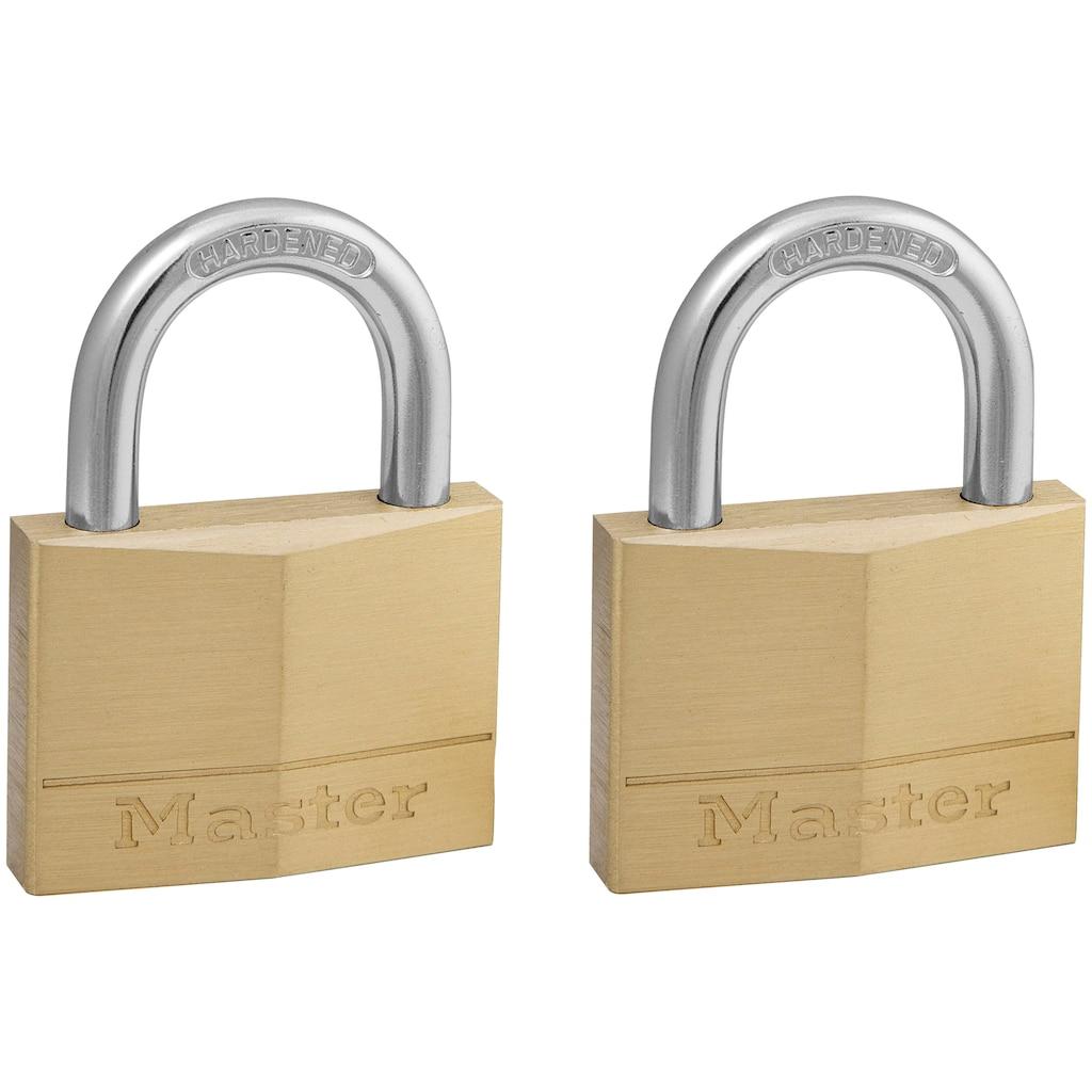 Master Lock Vorhängeschloss, Messing