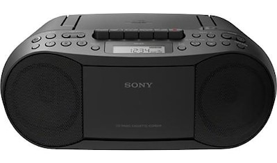Sony Boombox »CFD-S70«, ( ), CD, MP-3, Kassette kaufen