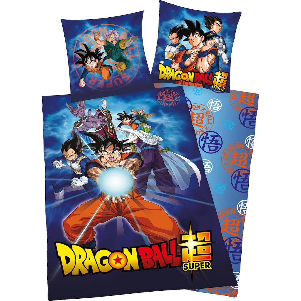 Kinderbettwäsche »Dragonball«, mit Dragonball Motiv