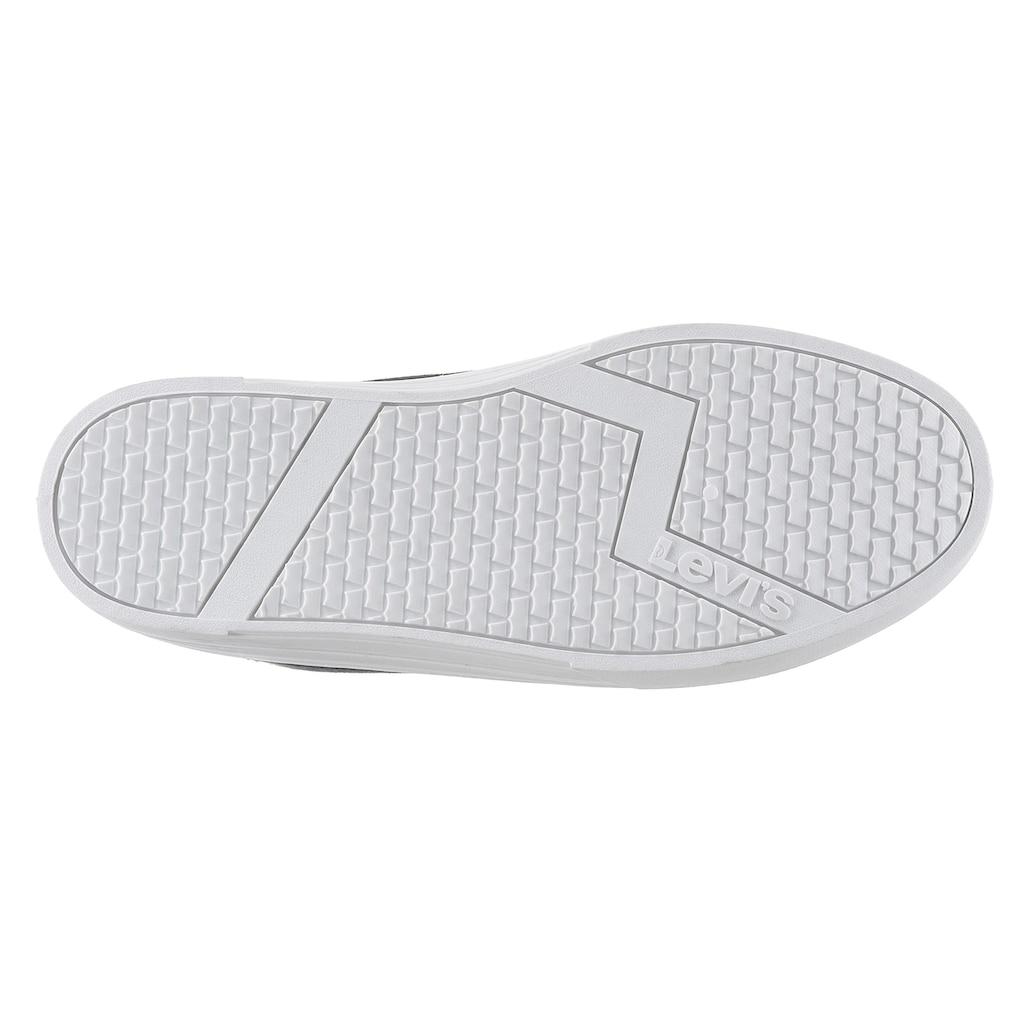 Levi's® Plateausneaker »Trjuana«, in bequemer Schuhweite