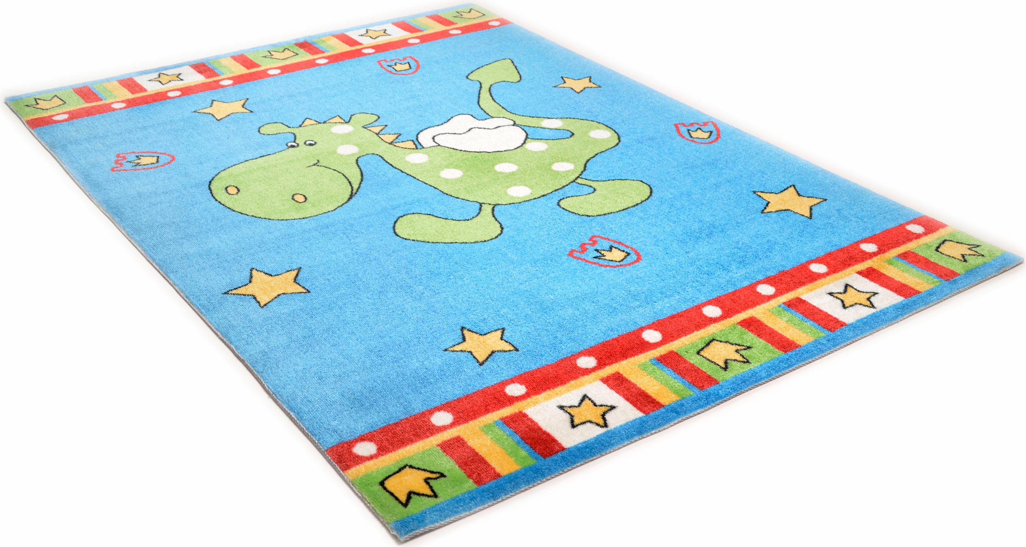Kinderteppich Happy Dragon THEKO rechteckig Höhe 12 mm maschinell getuftet