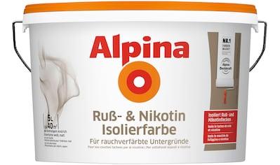 ALPINA Innenfarbe »Ruß -  und Nikotin Isolierfarbe«, 5 l, matt kaufen