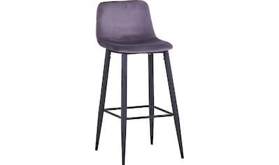 SIT Barhocker »Sit&Chairs«, mit weichem Samtbezug kaufen