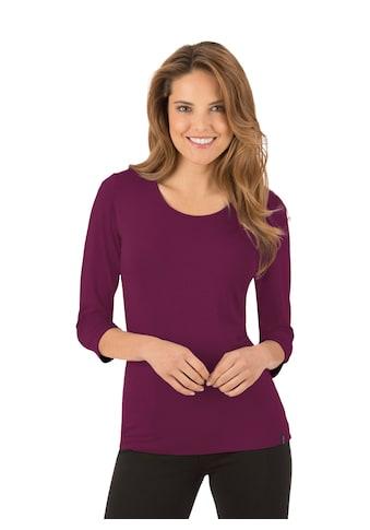 Trigema Shirt aus Viskose 3/4-Ärmel kaufen