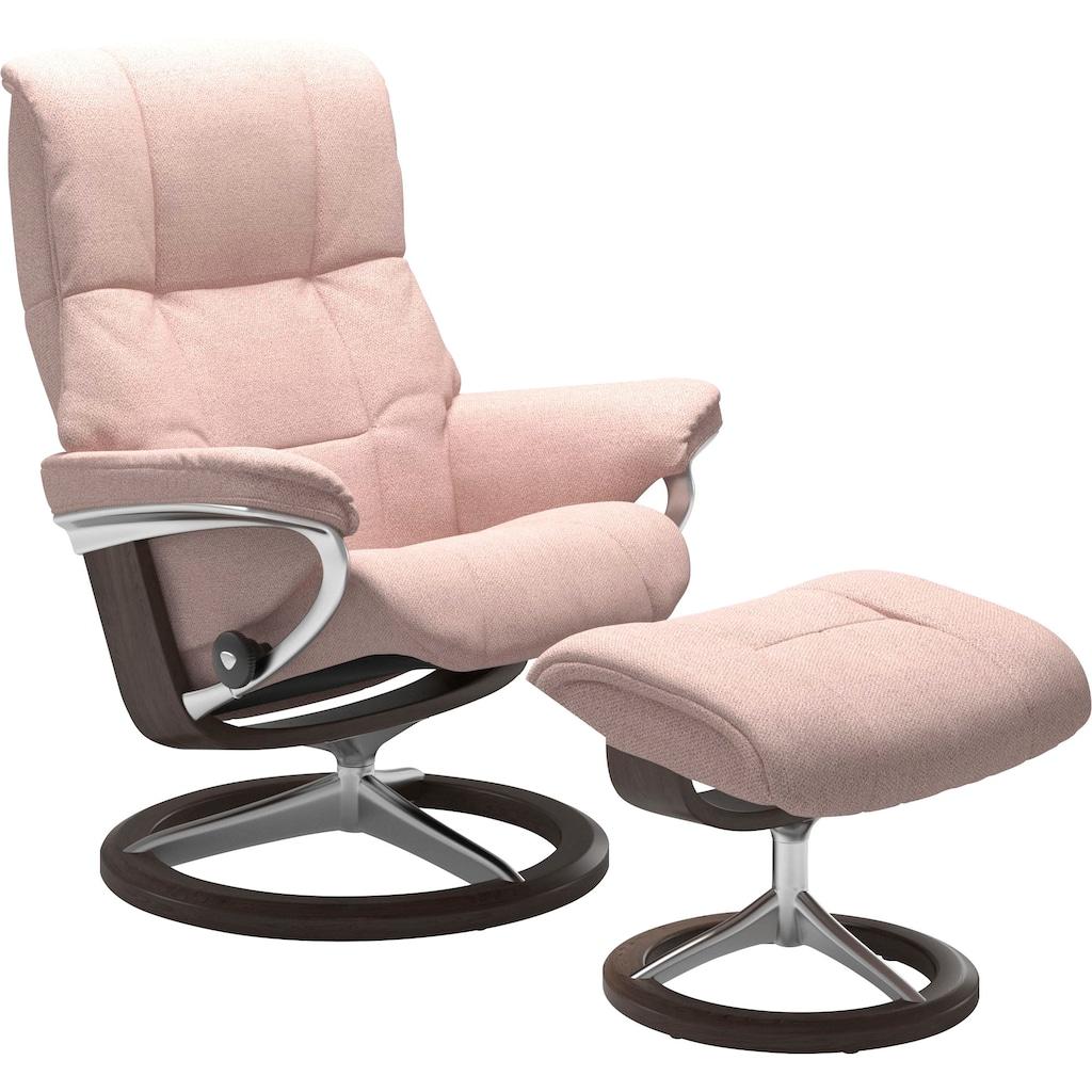 Stressless® Relaxsessel »Mayfair«, mit Hocker, mit Signature Base, Größe S, M & L, Gestell Wenge