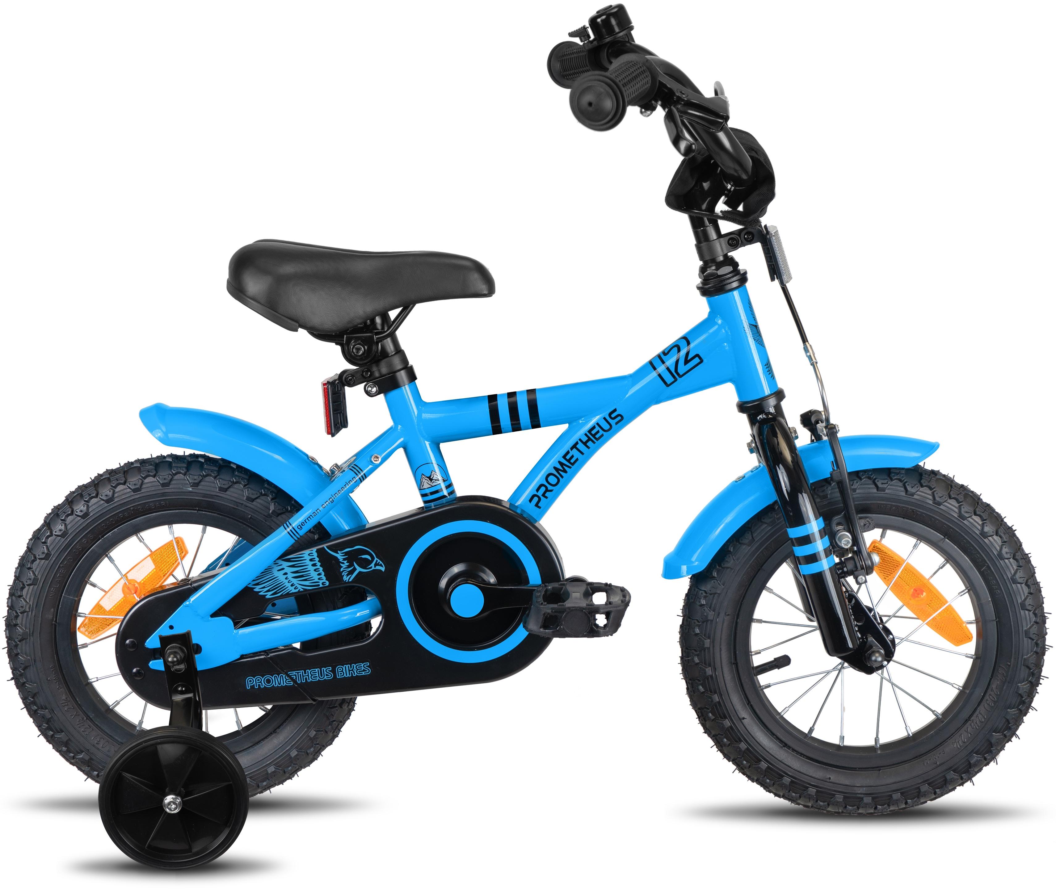 PROMETHEUS BICYCLES Kinderfahrrad Hawk, 1 Gang blau Kinder Kinderfahrräder Fahrräder Zubehör Fahrrad