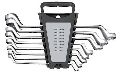 WGB BASIC PLUS Ringschlüssel »9290 S - Doppelringschlüssel-Satz«, gekröpft,... kaufen