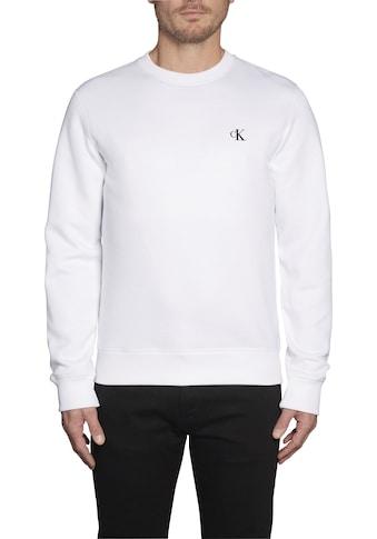 Calvin Klein Jeans Sweatshirt »CK ESSENTIAL REG CN« kaufen