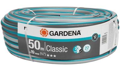 """GARDENA Gartenschlauch »Classic, 18025 - 20«, 19 mm (3/4""""), 50 Meter kaufen"""