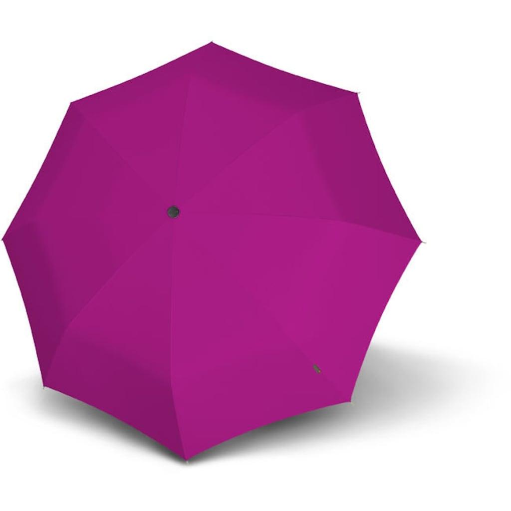 Knirps® Taschenregenschirm »T.200 Medium Duomatic, Pink«