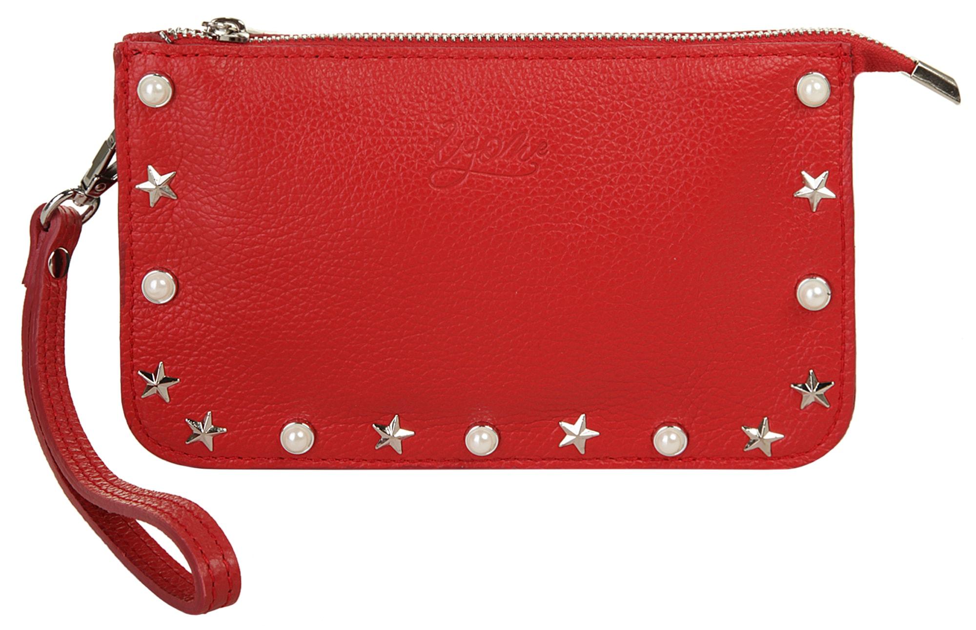 X-Zone Abendtasche | Taschen > Handtaschen > Abendtaschen | Rot | Leder | X-Zone