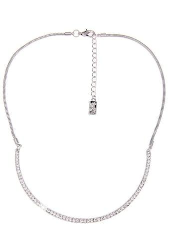 leslii Halskette mit Silberreif aus Strasssteinen kaufen