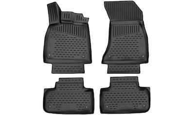 WALSER Passform-Fußmatten »XTR«, Audi, Q5, Geländewagen, (4 St., 2 Vordermatten, 2... kaufen